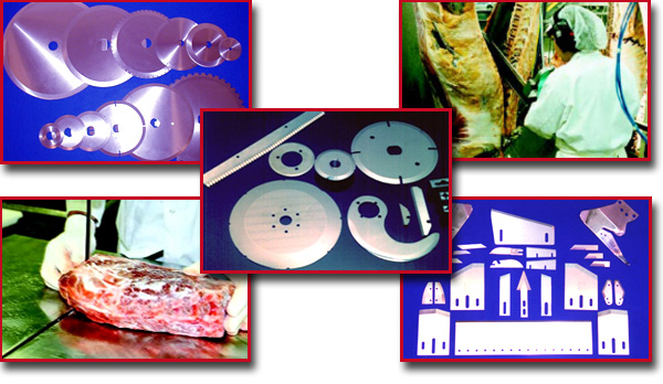 food processing replacement knives and blades